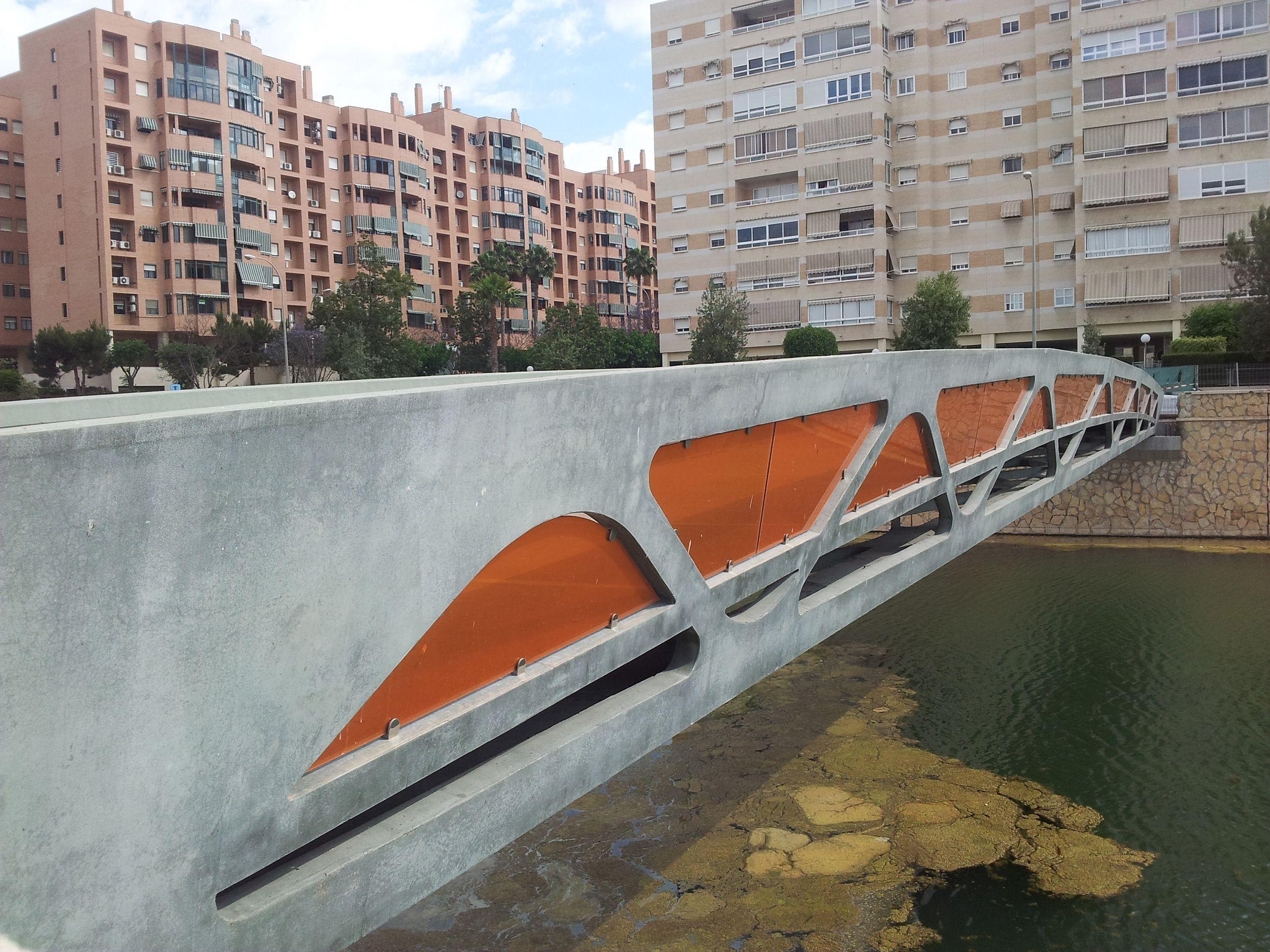 Pasarela UHPC sobre el Barranco de las Ovejas de Alicante